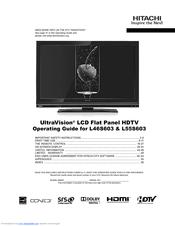hitachi l55s603 lcd direct view tv manuals rh manualslib com hitachi tv owners manual hitachi plasma tv service manual