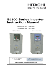 hitachi sj300 series manuals rh manualslib com Hitachi Inverter JBT AeroTech Hitachi L200 Inverter Manual
