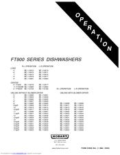 hobart ft900 series operation manual pdf download