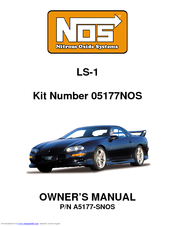 Holley P/N A5177-SNOS Manuals