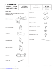 Honda 08B26-S5T-1000-91 Installation Instructions Manual