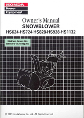honda hs1132 manuals rh manualslib com Example User Guide User Guide Template
