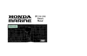 Honda Outboard Motor BF115A Owner's Manual
