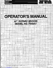 Honda FS5047 Operator's Manual