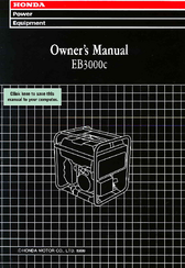 Honda EB3000c Owner's Manual