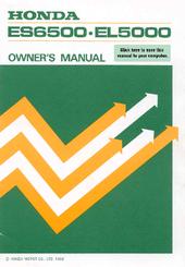 Honda ES6500 Manuals