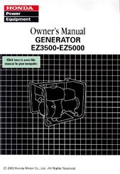 honda ez5000 manuals rh manualslib com gerador honda ez 5000 manual honda ez 5000 specs
