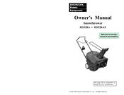 Honda Harmony HS520A Owner's Manual