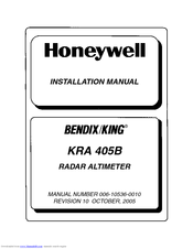 Honeywell Bendix/King KRA 405B Installation Manual