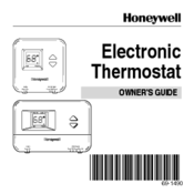 Honeywell T8401C Owner's Manual