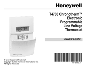 Honeywell CHRONOTHERM T4700 Owner's Manual