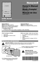 Honeywell YCT55N Owner's Manual