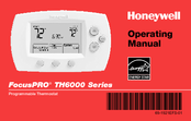 Honeywell FocusPRO TH6220D Operating Manual