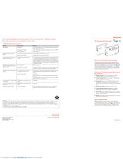 honeywell rf cm61ng manuals rh manualslib com Honeywell Pro 8000 Thermostat Manual Honeywell Thermostat Programming Manual