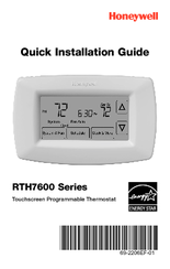 honeywell rth7600d manuals rh manualslib com honeywell thermostat rth7600 installation manual honeywell thermostat rth7500d manual