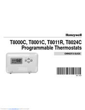 honeywell t8001c manuals rh manualslib com