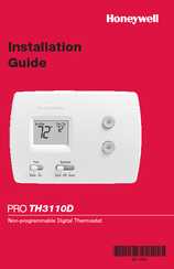honeywell pro th3110d installation manual pdf download rh manualslib com honeywell thermostat th5110d1006 installation manual honeywell th5110d1006 installation manual pdf