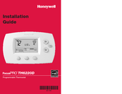 honeywell th6220d installation manual  20 pages Basic Electrical Wiring Diagrams Residential Electrical Wiring Diagrams
