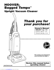 hoover u5140900 blu tempo widepath bagged upright vacuum cleaner rh manualslib com Universal Remote Control Manual Hoover SteamVac User Manual