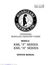 Hoshizaki KML-600MAH Service Manual