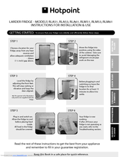 hotpoint rla51 instructions for installation use pdf download rh manualslib com