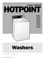 Hotpoint VWSR3110 Owner's Manual