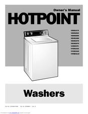 Hotpoint VWSR3110 Owner's Manual