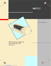 HP CalcPad 200 Service Manual