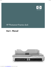 HP C8907A - Photosmart M-series Dock Digital Camera Docking Station User Manual