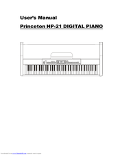 HP Princeton HP-21 Instruction Manual