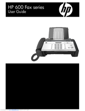 HP 600 Series User Manual