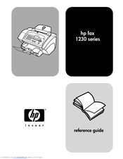 HP 1230 - Fax Color Inkjet Reference Manual