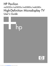 HP Pavilion md5880n User Manual