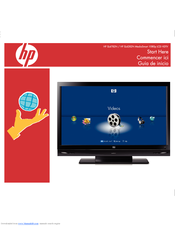 HP MediaSmart  SL4282N Quick Start Manual
