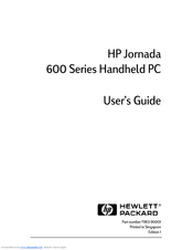 HP 690E - Jornada - Win CE Handheld PC Pro 133 MHz User Manual