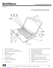 hp 6735b notebook pc manuals rh manualslib com HP Pavilion Entertainment PC Battery HP User Guide