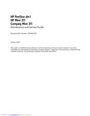Hp pavilion dm1 mini 311 compaq mini 311 service manual download.