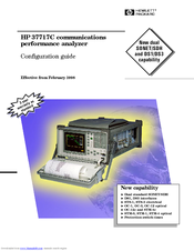 HP 37717C Configuration Manual
