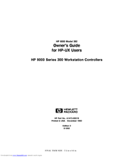 hp hp 9000 model 382 manuals rh manualslib com hp 9000 rp5470 service manual hp scanjet 9000 service manual