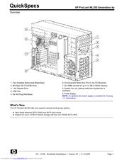 hp proliant ml350 generation 4p manuals rh manualslib com hp 4p manual hp laserjet 4p user manual