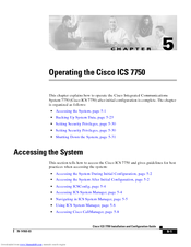 Cisco 7750 Operating Manual