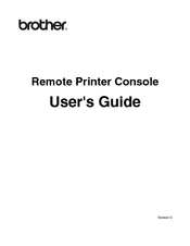 Brother 2 User Manual
