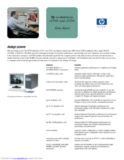 HP c3700 - Workstation Datasheet