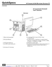 Hp compaq dx2300 microtower