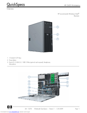 HP Z400 - Workstation Quickspecs