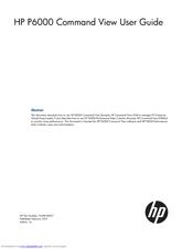 Hp Pavilion p6000 - Desktop PC Manuals