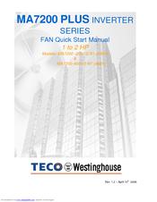 teco westinghouse motor teco ma7200 plus quick start manual pdf rh manualslib com TECO-Westinghouse Desktop Wallpaper TECO-Westinghouse Longhorns