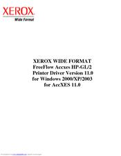 XEROX HP-GL/2 USER MANUAL Pdf Download