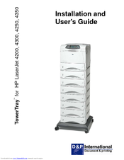 HP LaserJet LaserJet4350 Installation And User Manual