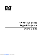 HP vp6100 series User Manual